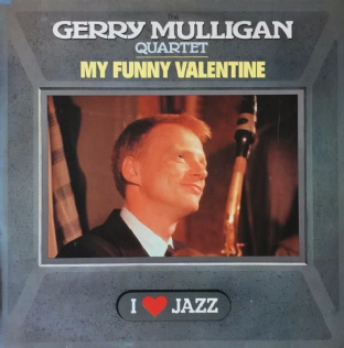 Gerry Mulligan Quartet (The) - My Funny Valentine (LP) (VG/G)